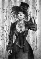Mad hattress by AnnaSulikowska
