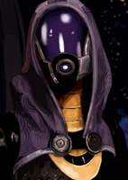 mass effect series - tali'zorah nar rayya by miracle32