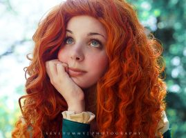 Merida - Brave - Paula Vasquez by SeviYummy