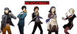 Persona 2 Characters by PikachuStar93