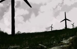 speed painting wind theme by cury