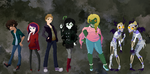 Cast of Knights of Fright by CharmingNightmare