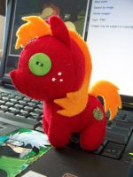 Big  Macintosh plush revisited by haiban