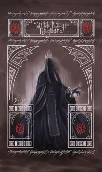 The Ringwraith known as the Witch-King of Angmar by koyotenahual