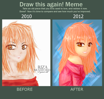 MEME: Draw this again by Doodle-Sprinkles