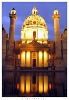 Karlskirche by Nightline