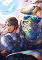 Snake and Link by TransmissionDream