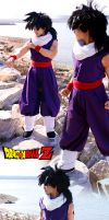 Son Gohan Android Saga Cosplay by TechnoRanma