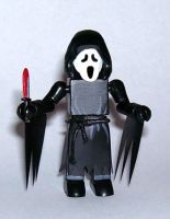 Ghostface (Scream) Custom Minimate by luke314pi