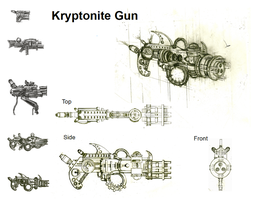 Kryptonite Gun Design by ADakhil