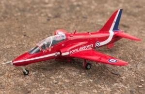 Airfix Red Arrows Hawk by AEisnor