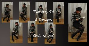 The Art Girl 6 by kime-stock