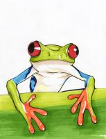 One Frog Two Frog Tree Frog by SweetIllustrations