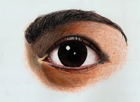 2- A realistic eye by Kuja09