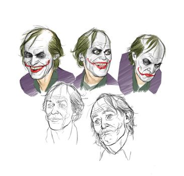 Willem Dafoe as The Joker by angryrooster