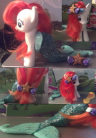 My Little Mermaid - Custom Ariel Pony by NerdyMind
