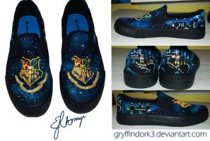 Hogwarts Shoes by Gryffindork3