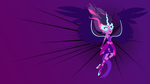 Midnight Sparkle Color Blocks Wallpaper 2 by Akili-Amethyst