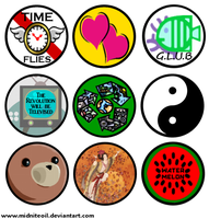 Button Designs 2 by Midniteoil-Burning