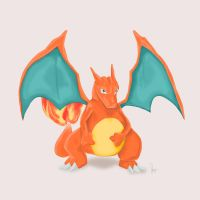 Charizard by joogz