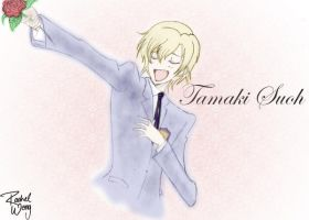 Tamaki Suoh - Coloured xD by rainie-moon