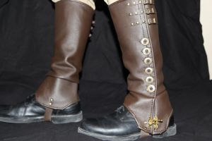 Steampunk Spats by AverusX
