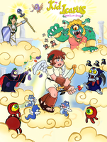 Kid Icarus - Angel Land Story by pocket-arsenal