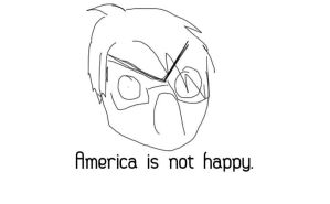 America, is not happy. by amk445