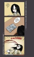 Orochimaru's Weakness by Eko-chan