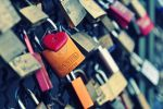Love padlocks by floppyrom