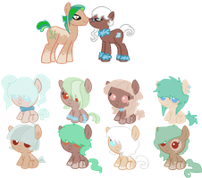 Tea Leaf Breedable2 by LulaAdopts