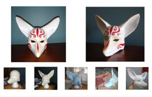 Pipe fox mask by Bueshang