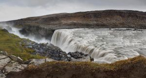 Dettifoss Panorama by cwaddell