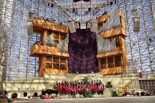 Crystal Cathedral Easter Choir by Royce-Barber