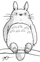 My Neighbour Totoro. by all-day-everyday