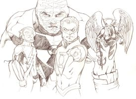 New 52 Earth 2 by guinnessyde