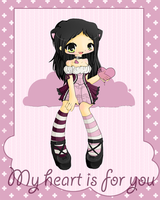 My heart is for you by linkitty