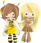 bee and cinnamon by bookdresses
