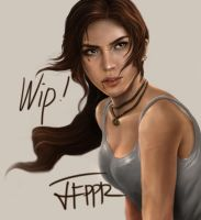 Lara Croft WIP by pbozproduction