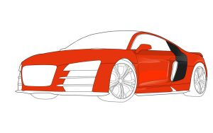 -WIP- Audi R8 by prox3h