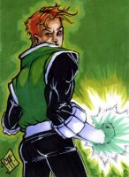 Guy Gardner Charity PSC by chris-foreman