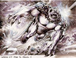TELLUS panel 02 from Legion 9 by Cinar