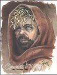 Tyrion Lanister Artist Sketch Card by ConnieFaye