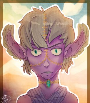 A Young Sciathan by Apocalyptic-Vagabond