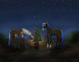 Marlies' Christmas card by RisingAngelss