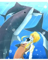 Swimming With Jaws by LivingPlaywrite