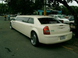 Chrysler 300C Limo rear by Mister-Lou
