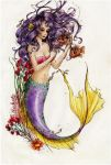 Purple and Gold by Chalaya