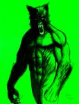 Altered Beast  Green Paper by DougSQ