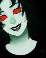 Terezi Without Glasses by nikkoyuyu